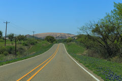 Road to Enchanted Rock Royalty Free Stock Photography