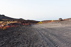 Road to Etna. A road to Mount Etna used during 4x4 trip Royalty Free Stock Image