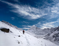 Road to Everest Base Camp in Sagarmatha, Nepal Stock Photo