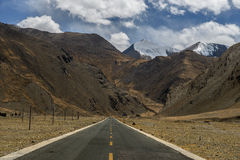 Road to everest. Royalty Free Stock Photography