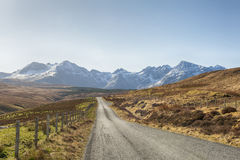 Road to Fairy Pools - Isle of Skye Stock Photos