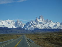 Road to Fitz Roy Royalty Free Stock Photos