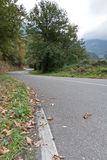 Road to the freedom. A road in the Picos de Europa, Asturias (Spain Royalty Free Stock Photos