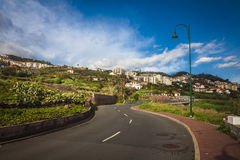 Road to Funchal Royalty Free Stock Photo