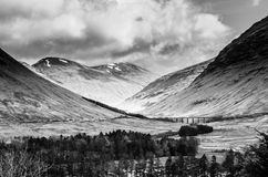 Road to glen coe 2. View from the road to glen coe, scotland Stock Photo