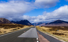Road to glen coe 3 Stock Photos