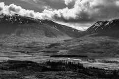 Road to glen coe 6. View from the road to glen coe, scotland Stock Images