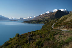 Road to Glenorchy Stock Images