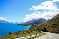 Road to glenorchy New Zealand Stock Images