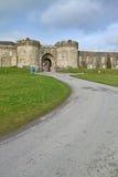 Road to Glenstal Abbey. Glenstal Abbey in Co. Limerick - Ireland Royalty Free Stock Photo