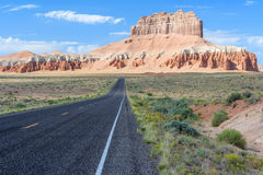 Road To Goblin Valley State Park Utah USA Royalty Free Stock Images