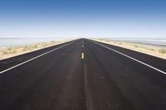 Road to the Great Salt Lake, USA Stock Image