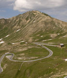 Road to Grossglockner Royalty Free Stock Photo