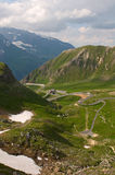 Road to Grossglockner. Stock Photography
