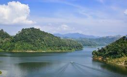 The road to Hala Bala national park , Yala Thailand. Stock Image