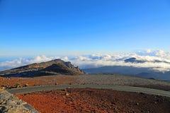 Road to Haleakala NP Stock Image