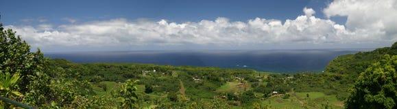 Road to Hana. Panoramic Royalty Free Stock Photo