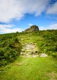 The road to Haytor Rocks, Dartmoor Royalty Free Stock Photos