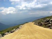 Road to Heaven. OLYMPUS DIGITAL CAMERA Mt Washington royalty free stock photo