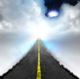 Road to Heaven Royalty Free Stock Photos