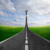 Road to heaven Royalty Free Stock Image