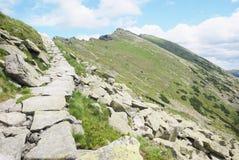 Road to heaven - mountains Royalty Free Stock Photos