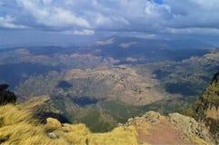 Ethiopia. Travel to Simien mountains. East African rift. On the road to the highest point of Ethiopia, Ras Dashen royalty free stock photos