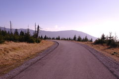 Road to the hills Stock Photography