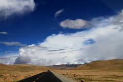 Road to Himalaya Royalty Free Stock Photos