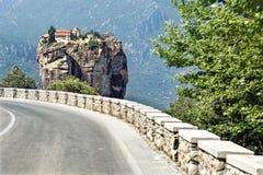 Road to Holy Trinity Monastery. Stock Image