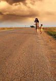 Road to home Royalty Free Stock Images