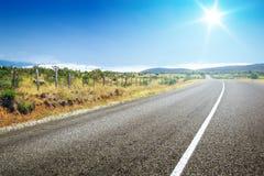 Road to horizon Stock Photos