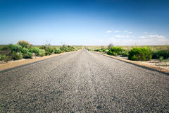 Road to horizon Royalty Free Stock Images