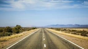 Road to horizon Stock Images