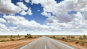 Road to horizon Stock Image