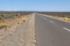 Road to the horizon through the Karoo Royalty Free Stock Photography