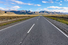 Road to infinity, The Seven Lakes, Argentina. View of the Road of the Seven Lakes, Patagonia, Argentina stock images