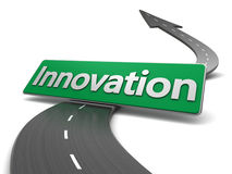 Road to innovation Royalty Free Stock Photos