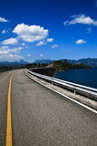 Road to island Stock Images
