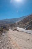 Road to Jebel Shams mountains, Oman Royalty Free Stock Photos