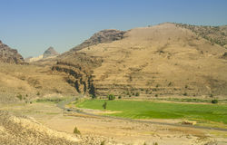 Road to John Day Fossil Beds Oregon Stock Images