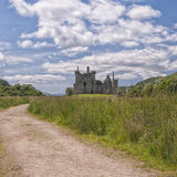 Road to Kilchurn Castle Royalty Free Stock Images