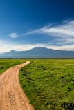 Road to Kilimanjaro Stock Photo