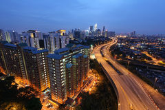 Road to Kuala Lumpur, Malaysia - Series 2 Stock Image