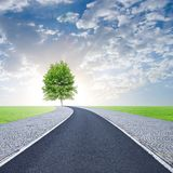 Road to life Royalty Free Stock Photos