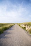 Road to lighthouse Stock Image