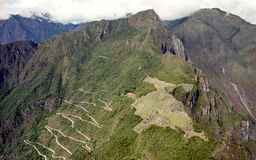 Road to Machu Picchu Stock Image