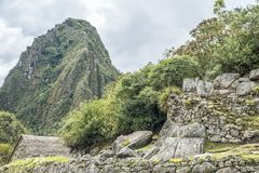 Machu Picchu Peru stock image