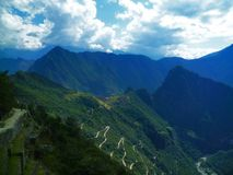 Road to Machu Picchu stock photo