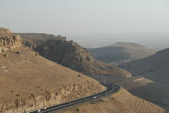 Road to Mardin Royalty Free Stock Photography